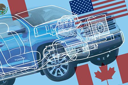 CFRT dans l'industrie automobile